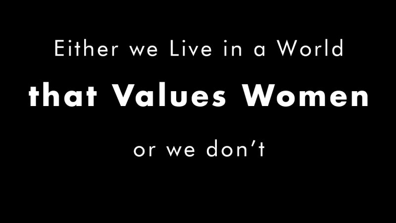 Valuing Women