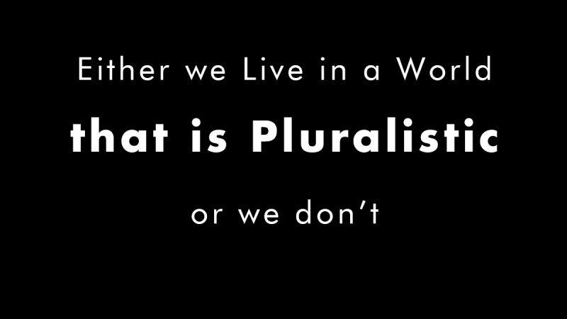 Valuing Pluralism