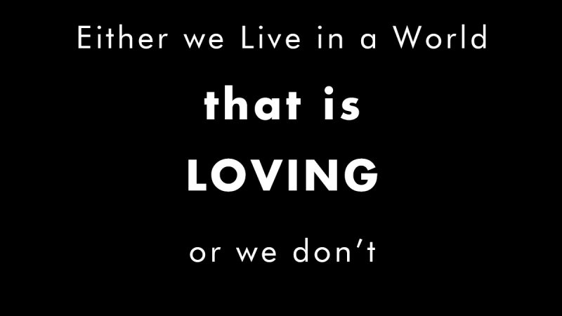 Being Loving