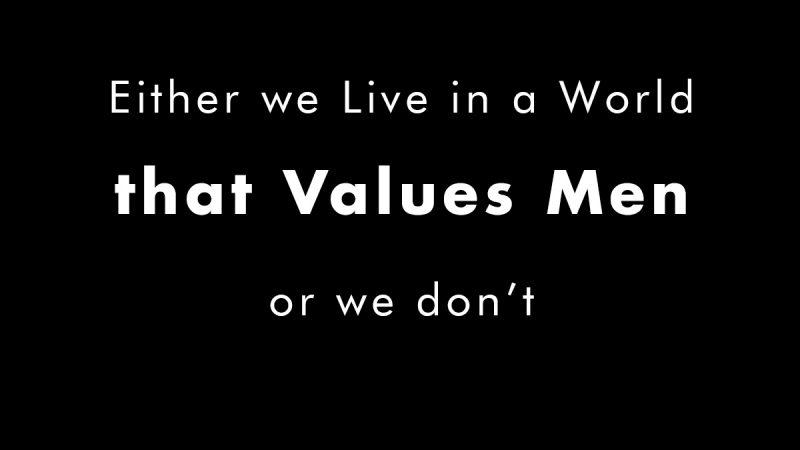 Valuing Men