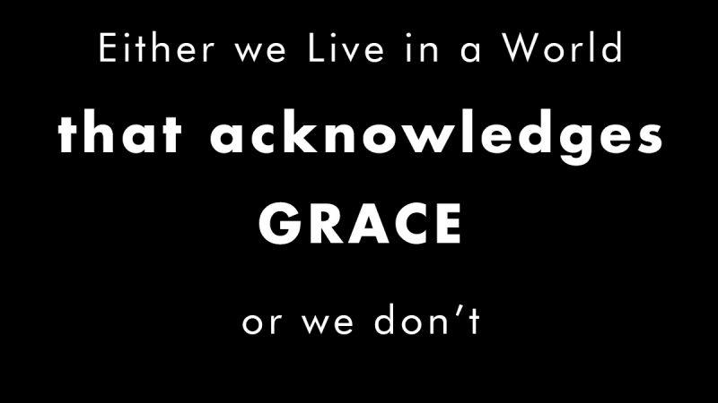 Acknowledging Grace